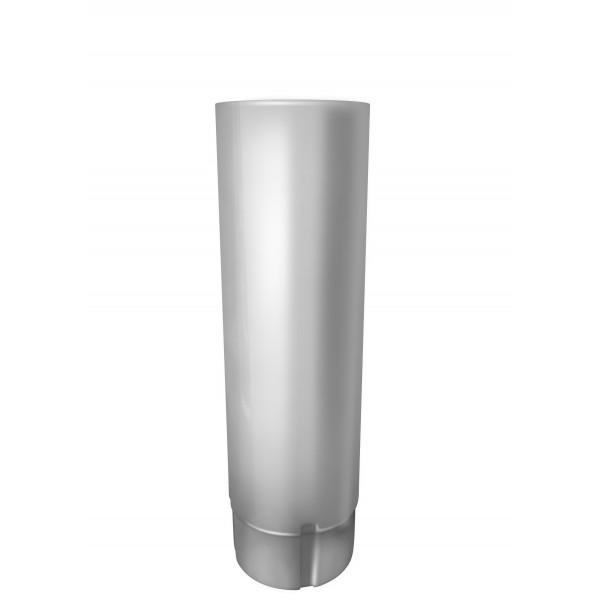 Труба круглая 100 мм 3 м RAL 9003 сигнальный белый