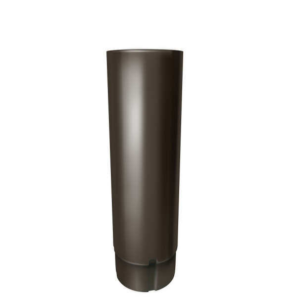 Труба круглая 90 мм 3 м RR 32 темно-коричневый