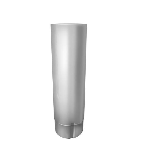 Труба водосточная металлическая 90 мм 3 м RAL 9003 сигнальный белый