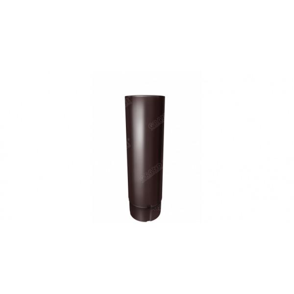 Труба круглая Optima 90мм 3м RAL 8017 шоколад