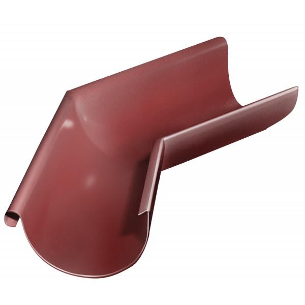 Угол желоба внешний 135 гр 125 мм RR 29 красный