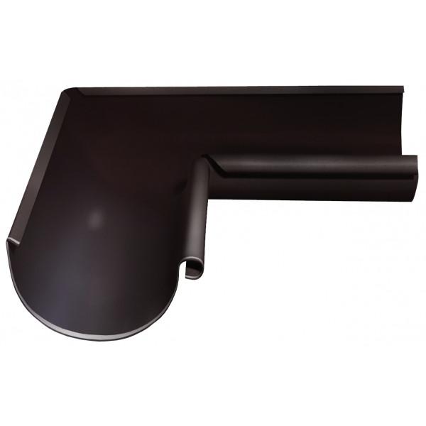 Угол желоба внутренний Optima 90 гр 125мм RR 32 темно-коричневый