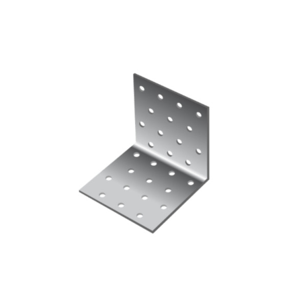 Уголок равносторонний Daxmer KUR 80х80х80х2 (25шт)