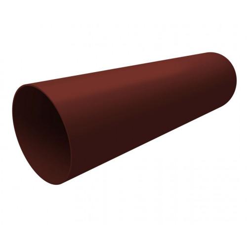 Труба водосточная пластиковая Grand Line 3м шоколадная (RAL 8017)