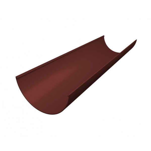 Желоб водосточный пластиковый Grand Line 3м шоколадный (RAL 8017)
