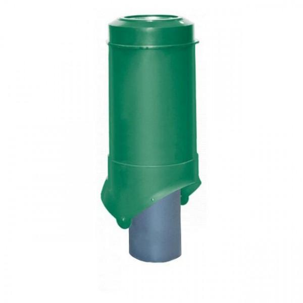 Выход канализации Krovent Pipe-VT 125/100 ИЗ зеленый