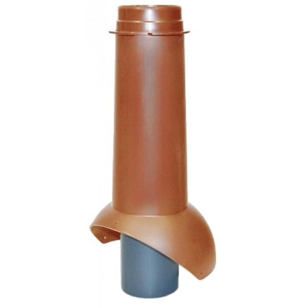 Выход канализации Krovent Pipe-VT 110 кирпичный