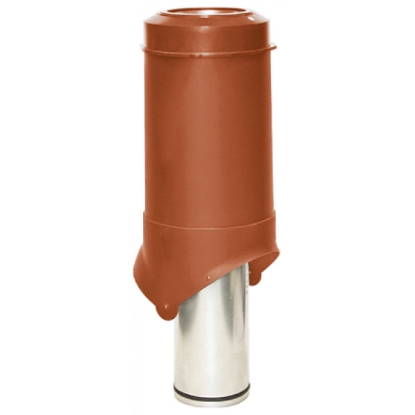 Выход вентиляции Krovent Pipe-VT 125 is кирпичный