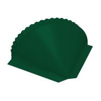 Заглушка конусная PE RAL 6005 зеленый мох