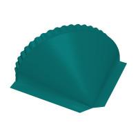 Заглушка конусная PE RAL 5021 водная синь