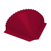 Заглушка конусная PE RAL 3003 рубиново-красный