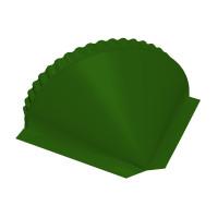 Заглушка конусная PE RAL 6002 лиственно-зеленый