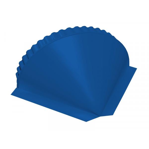 Заглушка малая конусная PE RAL 5005 сигнальный синий